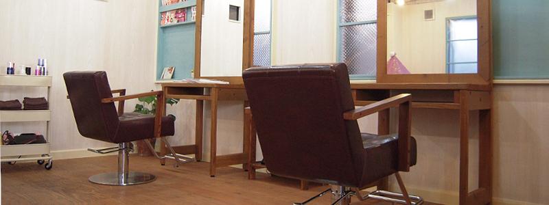 東京都羽村市の美容室 RIRUHA・店内